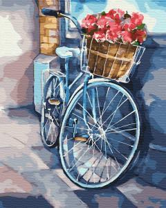 Фото Картины на холсте по номерам, Картины  в пакете (без коробки) 50х40см; 40х40см; 40х30см, Цветы, букеты, натюрморты Картина по номерам без коробки Paintboy Лето в корзинке 40х50см (GX 33878)