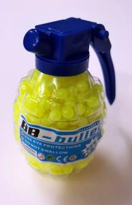 Фото Игрушечное Оружие, Стреляет пластиковыми 6мм  пульками, Пульки пластиковые 6мм Пульки (шары) пластиковые желтые  в гранате  800шт.    6мм