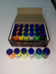 Фото Игрушечное Оружие, Стреляет пластиковыми 6мм  пульками, Пульки пластиковые 6мм Пульки (шары) пластиковые разноцветные  24х600шт.  14400шт.  6мм
