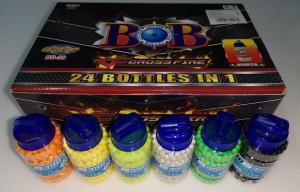Фото Игрушечное Оружие, Стреляет пластиковыми 6мм  пульками, Пульки пластиковые 6мм Пульки (шары) пластиковые разноцветные  6х600шт.   6мм