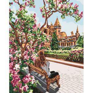 Фото Картины на холсте по номерам, Романтические картины. Люди Картина по номерам в коробке Идейка Отдых в тени 40х50см (KH 4717)