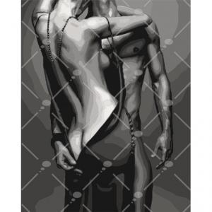 Фото Картины на холсте по номерам, Романтические картины. Люди Картина по номерам в коробке Идейка Passion 50х40см (KH 4579)