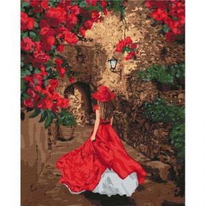 Фото Картины на холсте по номерам, Романтические картины. Люди Картина по номерам в коробке Идейка Навстречу сказке 40х50см (KH 4736)