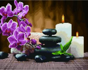 Фото  GZS 1036 Релакс и медитация Алмазная картина-раскраска (смешанная техника)