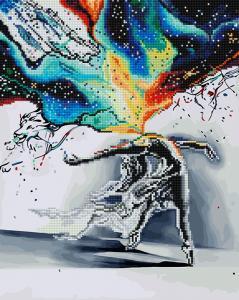 Фото  GZS 1008 Танец искусства Алмазная картина-раскраска (смешанная техника)
