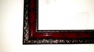 Фото Картины на холсте по номерам, Аксессуары, багеты (рамки), мольберты Багеты (рамки) Красное дерево для картин  размером 50х65см