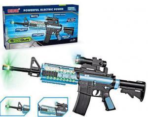 Фото Игрушечное Оружие, Со звуковыми и световыми эффектами Автомат LD017G  звук, свет  M416