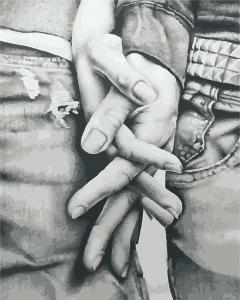 Фото Картины на холсте по номерам, Романтические картины. Люди Картина по номерам  в коробке ArtStory Мы вместе 40x50см (AS 0907)