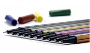 Фото Письменные принадлежности (ЦЕНЫ БЕЗ НДС), Ручки НЕ автоматические шариковые, масляные, капиллярные, пигментные Ручка капиллярная