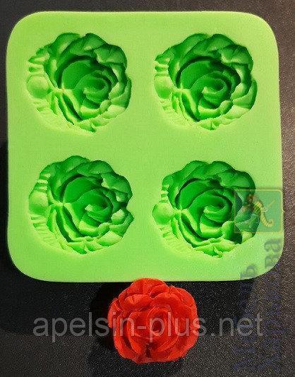 Молд силиконовый для мастики Роза диаметр 3,0 см высота1,6 см - Матрасы и наматрасники в Харькове