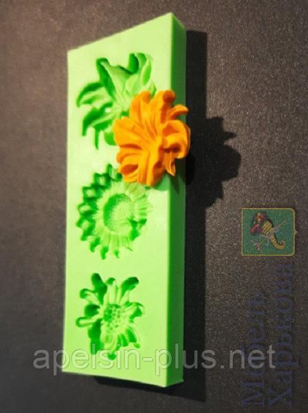Молд силиконовый для мастики Цветы диаметр 3,7 см высота 1,0 см - Матрасы и наматрасники в Харькове