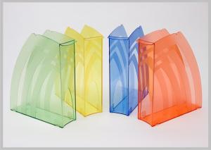 Фото Канцелярские товары (ЦЕНЫ БЕЗ НДС), Лотки для бумаг, Лотки вертикальные настольные, настенные Модуль вертикальный
