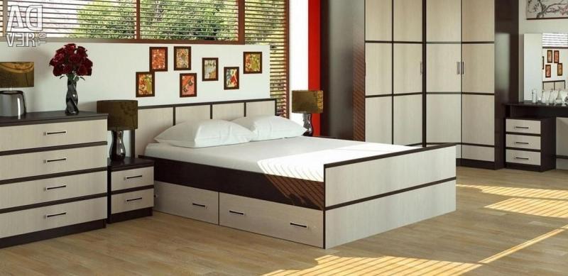 Фото Кровати, Кровати двуспальные Кровать Сакура/Джулия 1,2м (Рикко)