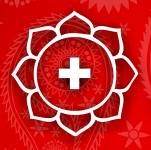 логотип Международный Центр Доктора Кальяра(йога, аюрведа, индийский магазин)
