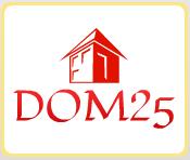 логотип Dom25 - Ваш уютный дом.