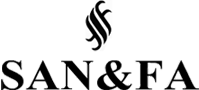 логотип Санфа - качественная мужская одежда, мужской трикотаж оптом из Турции