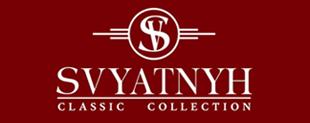 """логотип """"SVYATNYH"""" - элитная мужская одежда"""