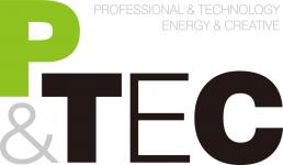 """логотип ТОО """"P&TEC"""""""