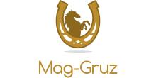 """логотип Грузоперевозки по Харькову и Украине """"Mag-Gruz"""""""