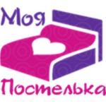 """логотип Интернет-магазин """"Моя постелька"""""""