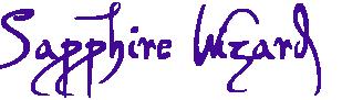 логотип Sapphire Wizard