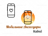 логотип Аксессуары для мобильных телефонов и смартфонов