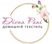 логотип Divna Pani домашний текстиль - официальный дистрибьютор тм Роксана (Leinle) и тм N.El