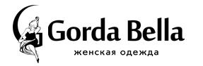 логотип GordaBella - женская одежда нужных размеров