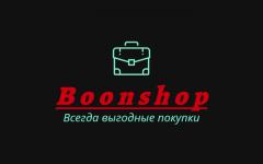 """логотип Интернет-магазин сумок и аксессуаров """"Boonshop"""""""