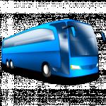 логотип Пассажирские перевозки. Автобусная перевозка в Одессе.